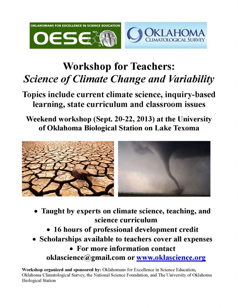 Climate workshop promo